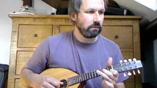 Es wohnte eine Müllerin (trad. German), mandolin instrumental