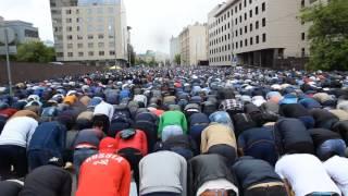 УРАЗА-БАЙРАМ 2017, МОСКВА, Намаз / Eid ul-Fitr, MOSCOW, Namaz