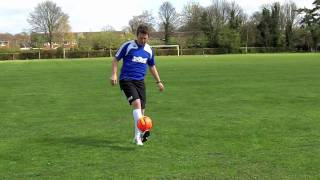 Learn Football Soccer Skills - How to do - Hop Around the World