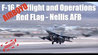 F-16 At Red Flag - Nellis AFB