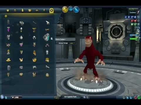 Spore: Galactic Adventures Captain's Parts