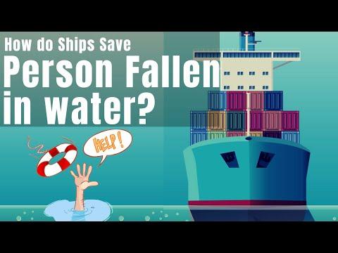Man overboard rescue procedures
