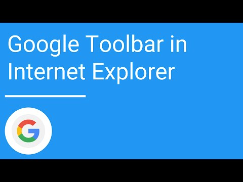 Using Google Toolbar In Internet Explorer