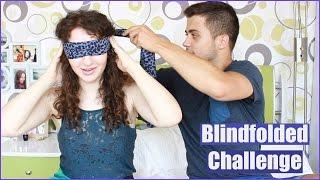 Предизвикателство: Грим със затворени очи // Blindfolded makeup challenge