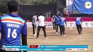 MANSI STRIKERS VS BHAGYODAY XI MATCH AT REGENCY PRATISHTHAN PREMIER LEAGUE 2019 DOMBIVALI