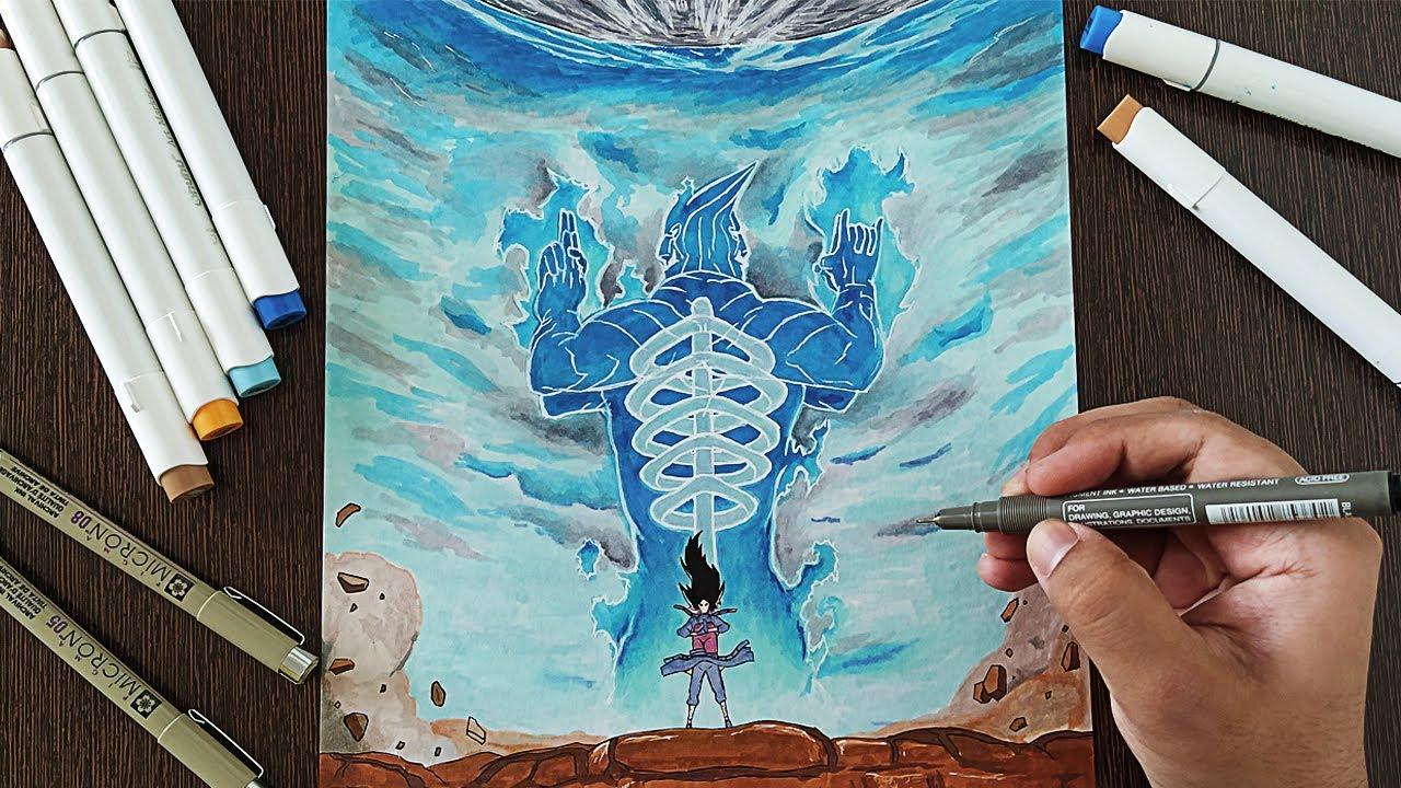 Drawing Madara Uchiha - Susanoo   Naruto Shippuden - YouTube