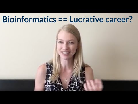 Is bioinformatics a lucrative career option for biologists?