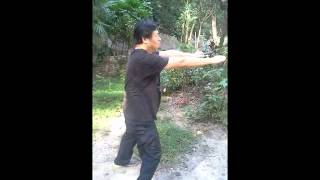 Repeat youtube video 朱家教系列10--朱亞南前後階段的三步驚勁(鳳爪,四門驚勁),三步箭