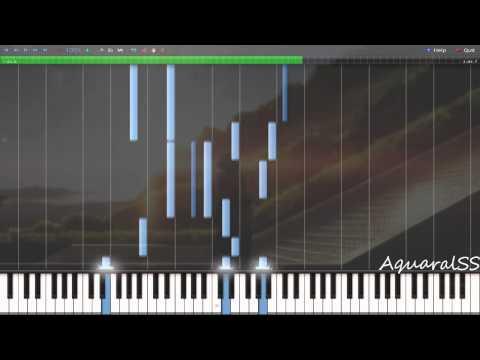 [Synthesia] Angel Beats! - My Precious Treasure (Piano Tutorial + DPS)