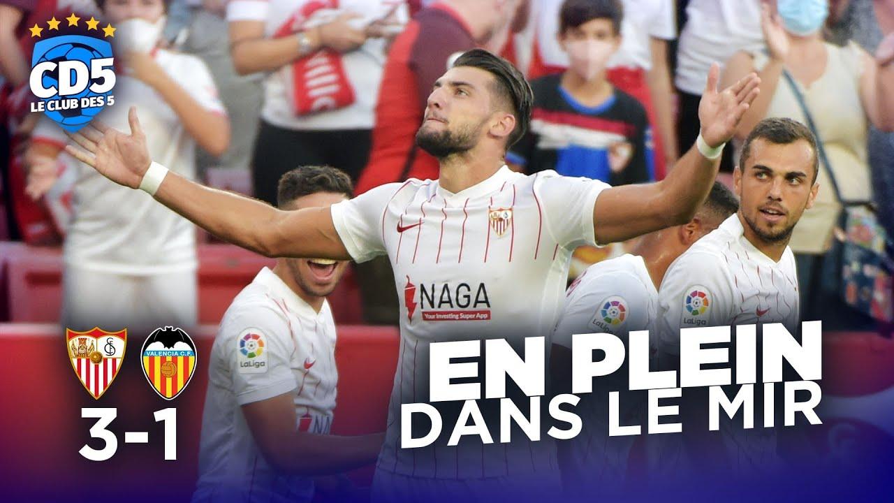 Download Séville vs Valence (3-1) / Monaco vs Saint-Étienne (3-1) - CD5 #936 - #CD5