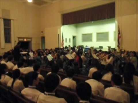 Hilo Intermediate School Winter Concert 2008 1.3 Bossa Blue