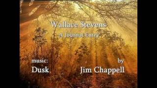 Wallace Stevens - A Journal Entry, Jim Chappell piano Thumbnail