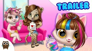 Meet the Cats of My Animal Hair Salon 😻 TutoTOONS Cartoons & Games for Kids