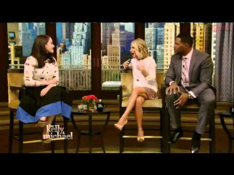 Kat Dennings Interview   Live With Kelly And Michael 2015