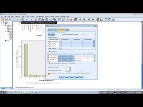 How To Use SPSS-Replacing Missing Data Using Multiple Imputation (Regression Method)