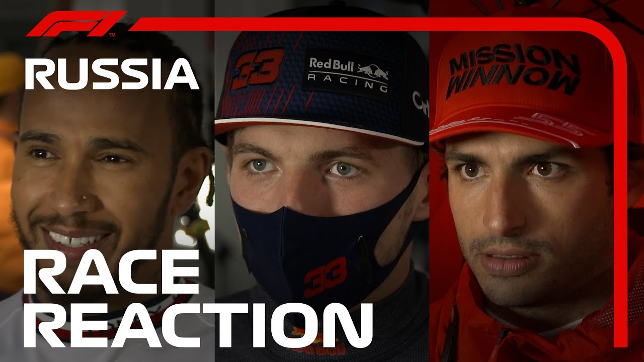 Download Driver React After Crazy Race in Sochi | 2021 Russian Grand Prix