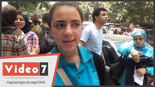 """بالفيديو..بعد تسرب امتحان التربية الدينية ..طلبة :""""مينفعش يأجلوا الامتحان واللغة العربية كان صعب"""""""