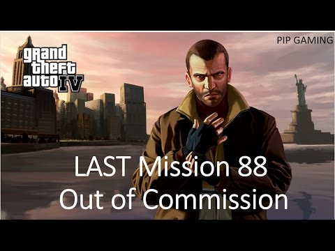 GTA 4 Last  Mission 88  Ending  Out of Commission  Walkthrough (XBOX360) 1080p