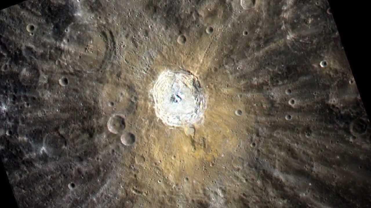 El hielo puede acumularse en los cráteres del Polo Norte