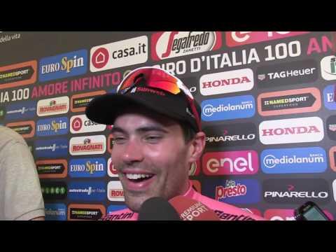 Tom Dumoulin - post-race interview - Stage 21 - Tour of Italy / Giro d'Italia 2017