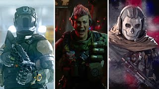 Call of Duty - ALL OPERATOR VIDEOS (Cutscenes) 2016 - 2020
