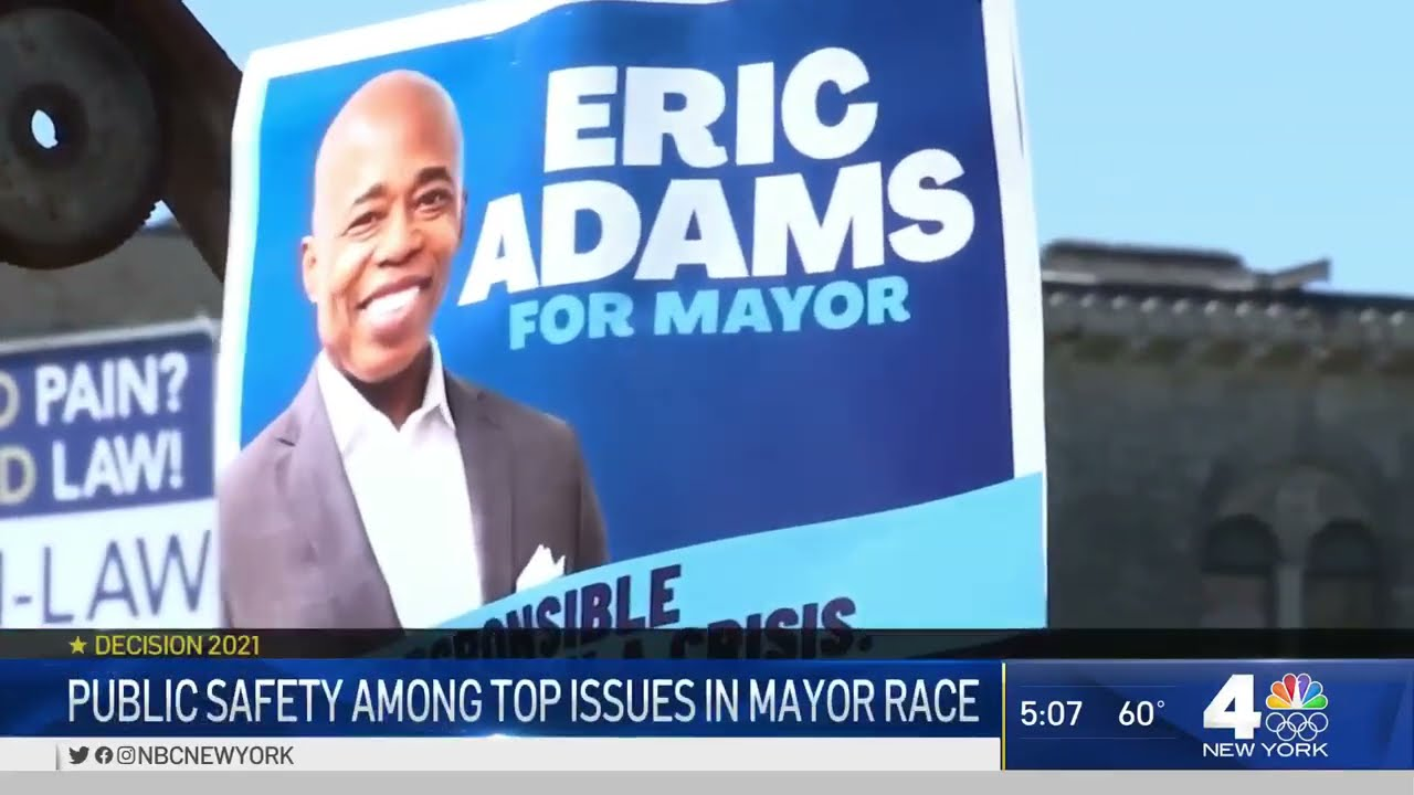 New York votes in mayoral primary as ex-police officer Eric Adams ...