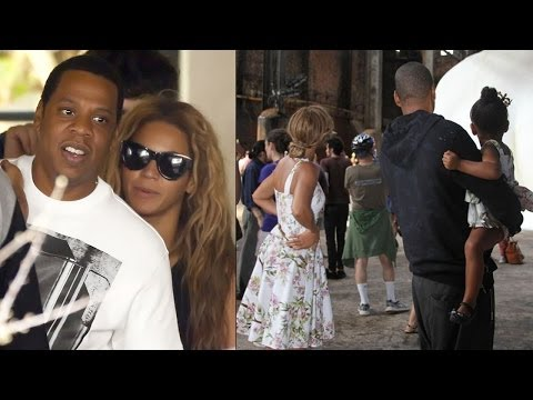 Beyonce Shares Happy Family Pic After Dissing Jay Z On Stage
