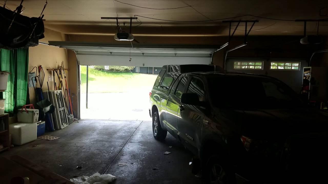 No Power Yes Garage Door Opener Youtube