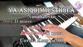 Gambar cover YA ASYIQOL MUSTHOFA - KARAOKE LIRIK (COVER) KORG Pa300
