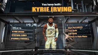 HOW TO MAKE A KYRIE IRVING BUILD ON NBA 2K20 - TOP 3 BUILDS AND BEST BADGES!!!