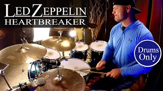 Led Zeppelin: Heartbreaker Drum Cover (DRUMS ONLY MIX)⚫⚫⚫