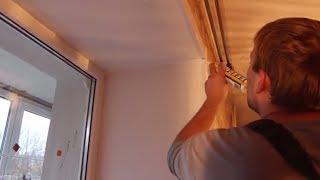 видео Как сделать откосы своими руками, Установка пластиковых откосов