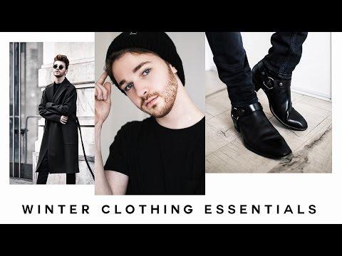 Winter Clothing Essentials + Fashion Staples (2016) - Imdrewscott