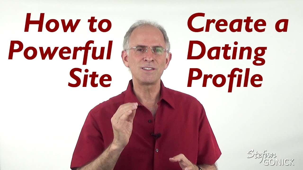 What to write on dating website profile