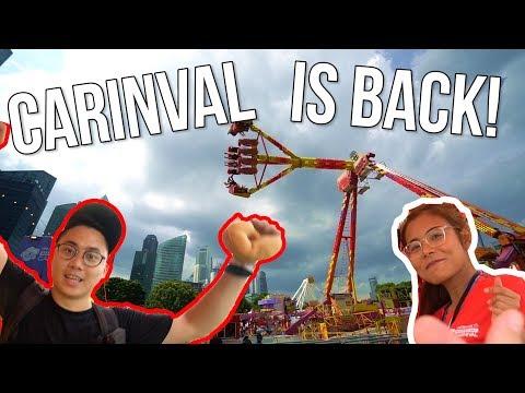 BACK AT THE CARNIVAL! 2019 - Arcade Ninja (Marina Bay Carnival)