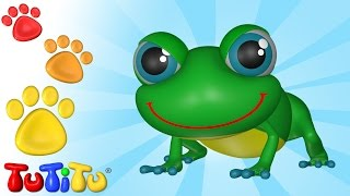 TuTiTu Zwierzęta w języku po polsku | Żaba | I inne Zwierzęta
