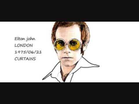 ELTON JOHN - LONDON - 1975/06/21 - CURTAINS