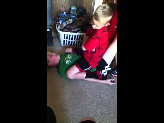 My older brother beats me up