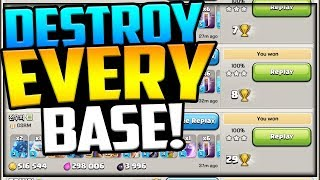 DESTROY EVERY Base! GEM, MAX, Fix That Rush Clash of Clans