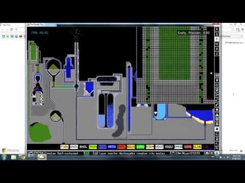 The Powder Toy - Upgraded Complex Nuclear Reactor and Production Plant
