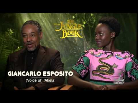 THE JUNGLE BOOK interview w/ Lupita Nyong'o and Giancarlo Esposito