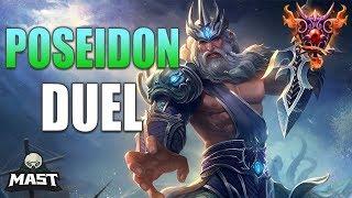 Poseidon Duel Gameplay | SMITE Masters Ranked | CallMeCamping?