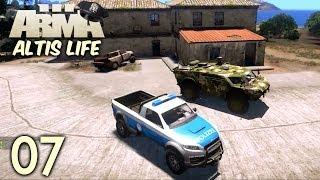 Arma 3 Altis Life | #07 | Rekrut Curry meldet sich zum Dienst [Deutsch/HD]