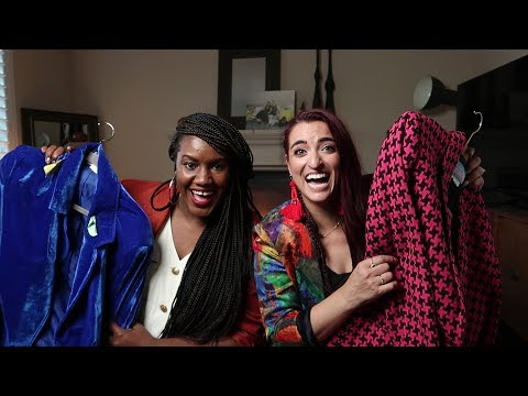 #ThriftandTell | TOP 5 Blazers in our CLOSET HAUL |#ThriftersAnonymous