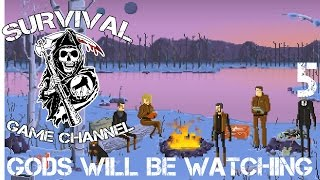 Gods Will Be Watching Прохождение На Русском #5 — ЛЕДЯНАЯ ПЛАНЕТА