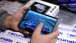 Vivax TPC-802 3G tablet - video recenzija (10.01.2017)