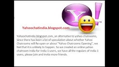 *Yahoo Chat Online* Yahoo chat room India