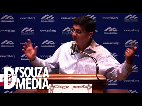 Students asks D'Souza to prove the Democrats' racist history