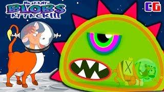 СЪЕЛ КОСМИЧЕСКУЮ КОРОВУ Приключение ИНОПЛАНЕТНОЙ СЛИЗИ в Игре Tales from Space Mutant Blobs Attack
