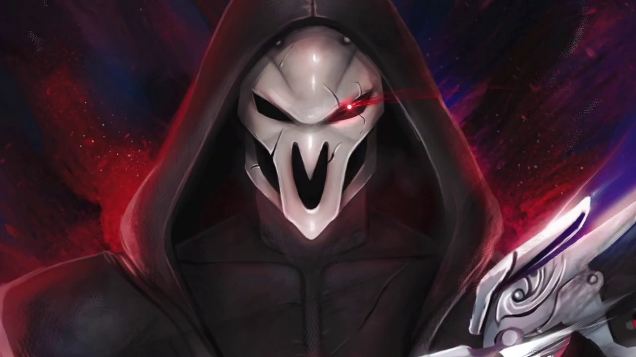 Reaper Overwatch Fanart Drawing Magato Youtube